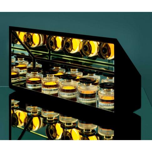 Christian Haas Handmade - Tasting Cabinet In Black, ...