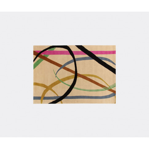 Amini Carpets Rugs - 'Lettera' Rug, Multicoloured In...
