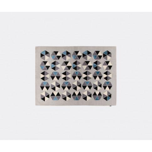 Amini Carpets Rugs - 'Esagoni' Rug, Blue In Blue Woo...