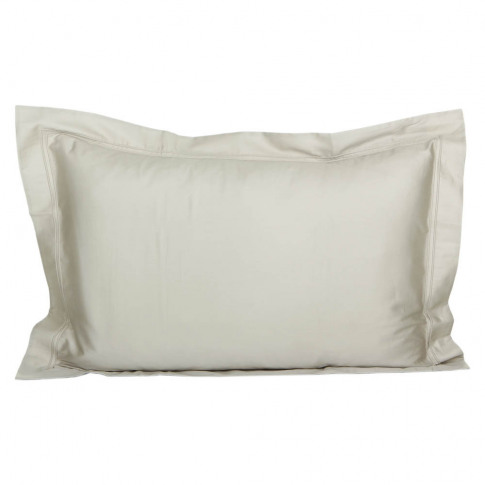 Yves Delorme - Triomphe Sateen Pillowcase - Pierre -...