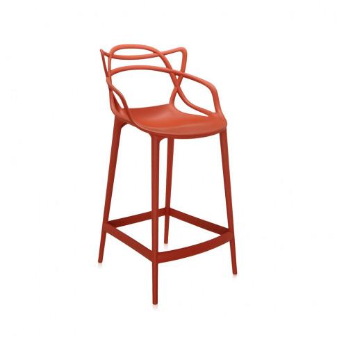 Kartell - Masters Stool - Rusty Orange - 65cm