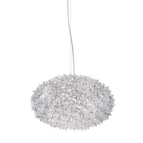 Kartell - Crystal Bloom Ceiling Lamp - 53x35cm