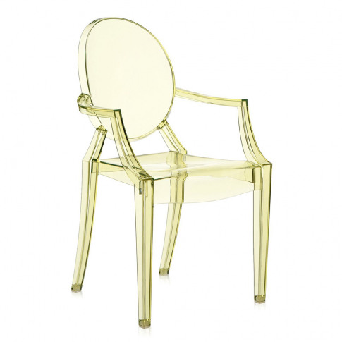 Kartell - Louis Ghost Armchair - Straw Yellow