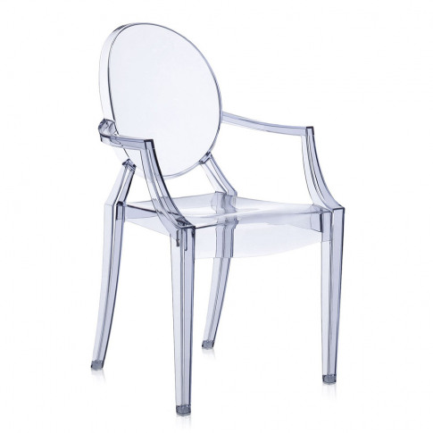 Kartell - Louis Ghost Armchair - Ice Blue