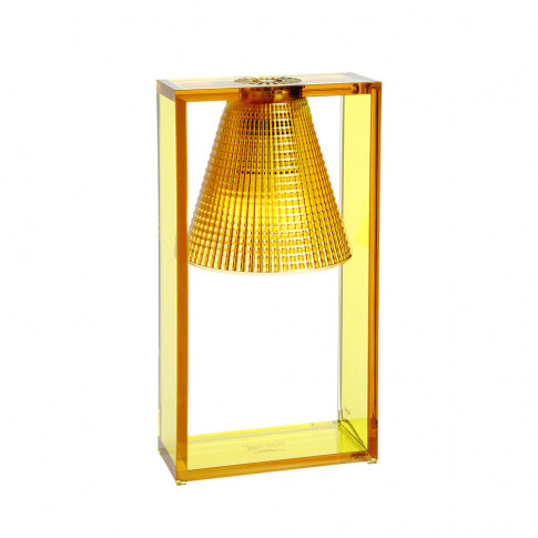 Kartell - Light-Air Table Lamp - Amber
