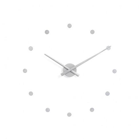 Nomon - Mini Oj Clock - Silver