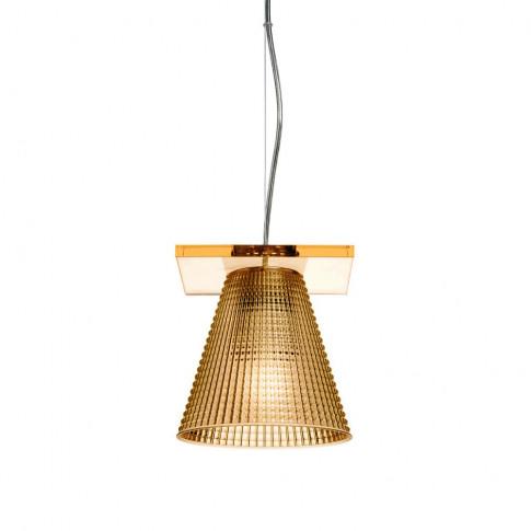 Kartell - Light-Air Pendant Lamp - Amber