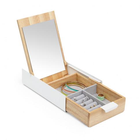 Umbra - Reflexion Storage Box - White/Natural
