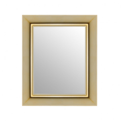 Kartell - Francois Ghost Mirror - Gold - Small