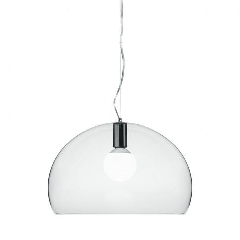 Kartell - Fl/Y Ceiling Light - Crystal