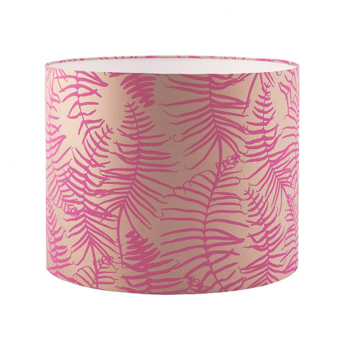 Clarissa Hulse - Feather Fern Lamp Shade - Pebble/Ne...
