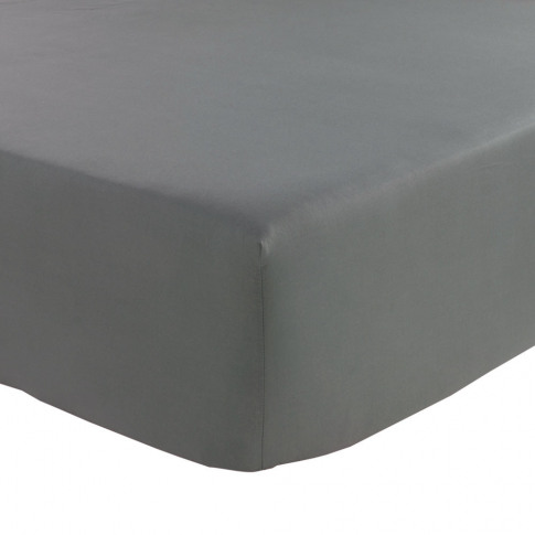 Olivier Desforges - Alcove Fitted Sheet - Slate - King