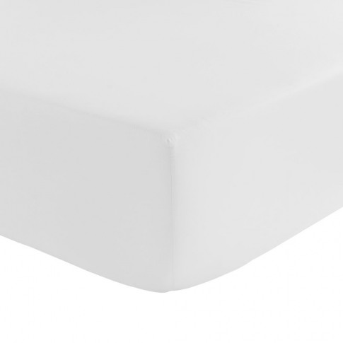 Olivier Desforges - Alcove Fitted Sheet - White - Si...
