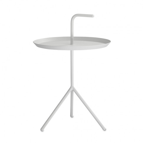 Hay - Dlm Side Table - White