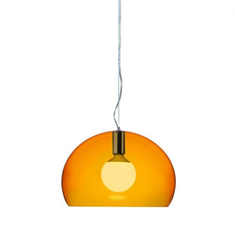 Kartell - Big Fl/Y Ceiling Light - Orange