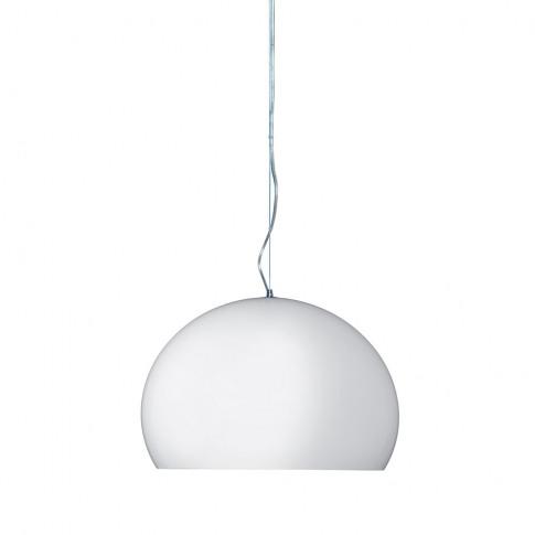 Kartell - Big Fl/Y Ceiling Light - White