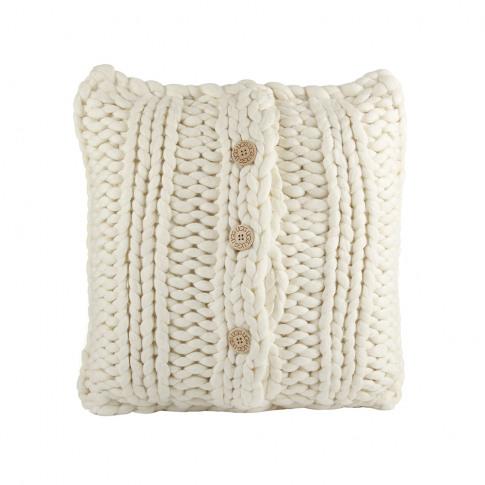 Ugg® - Oversized Knit Cushion - 50x50cm - Natural