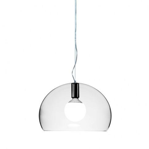 Kartell - Big Fl/Y Ceiling Light - Crystal