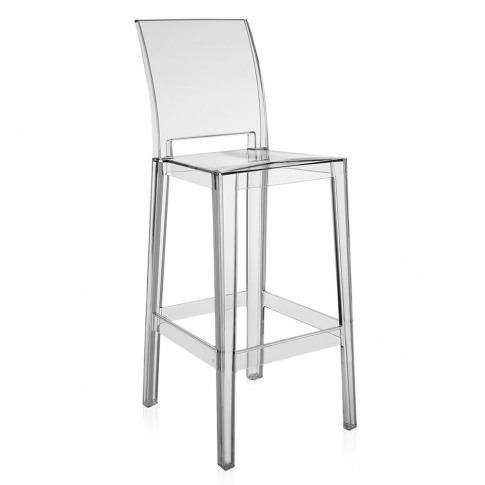 Kartell - One More Please Stool 75cm - Crystal