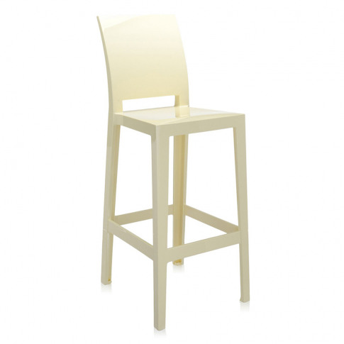 Kartell - One More Please Stool 75cm - Yellow