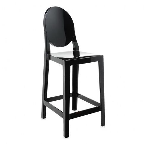 Kartell - One More Stool - Black - 65cm