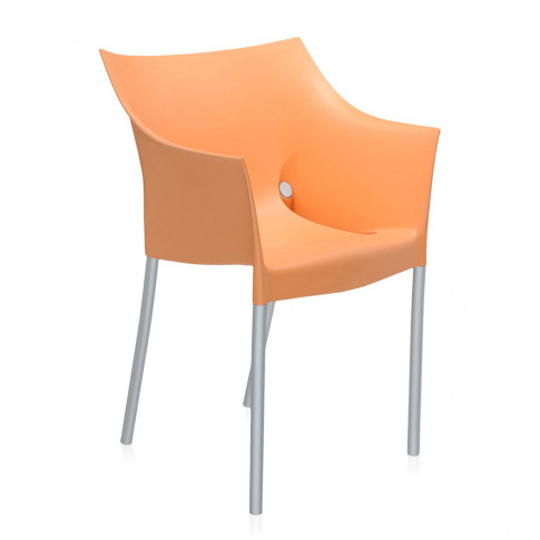 Kartell - Dr. No Outdoor Armchair - Light Orange