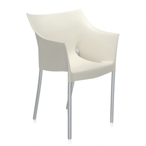 Kartell - Dr. No Outdoor Armchair - Wax White