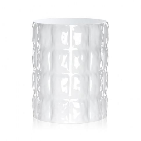 Kartell - Matelasse Vase - Glossy White