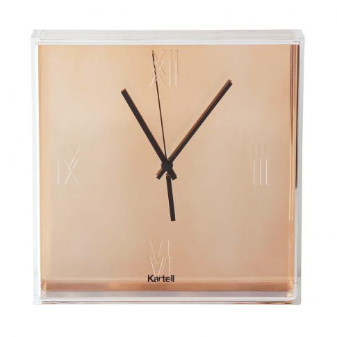 Kartell - Tic & Tac Wall Clock - Copper