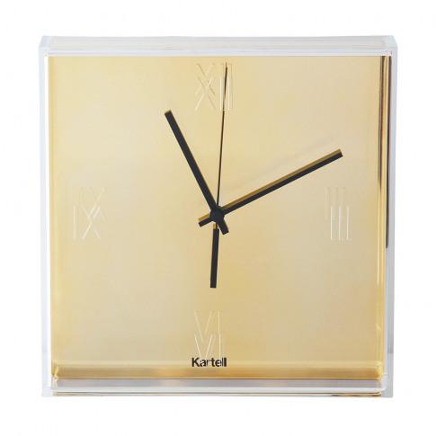 Kartell - Tic & Tac Wall Clock - Gold