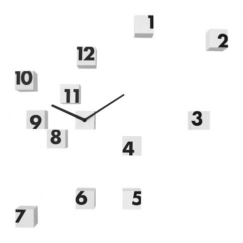 Progetti - Rnd Time Wall Clock - White