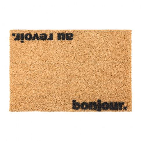 Artsy Doormats - Bonjour/Au Revoir Door Mat