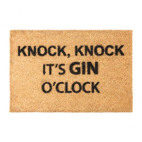 Artsy Doormats - Gin O'Clock Door Mat