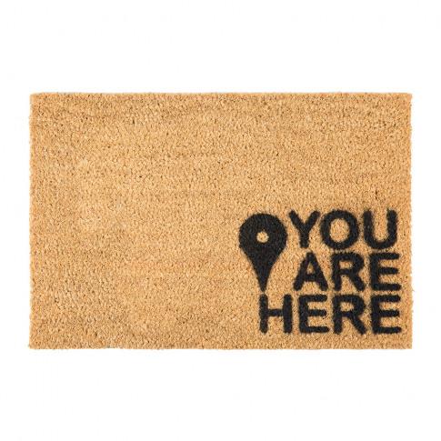 Artsy Doormats - You Are Here Door Mat