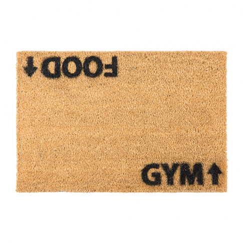Artsy Doormats - Food/Gym Door Mat