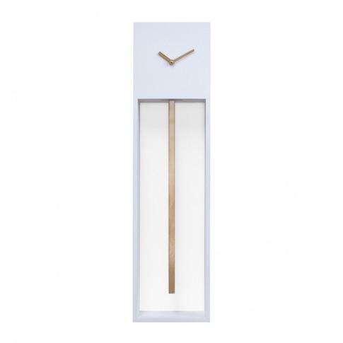 Progetti - Large Uaigong Pendulum Clock - White & Gold