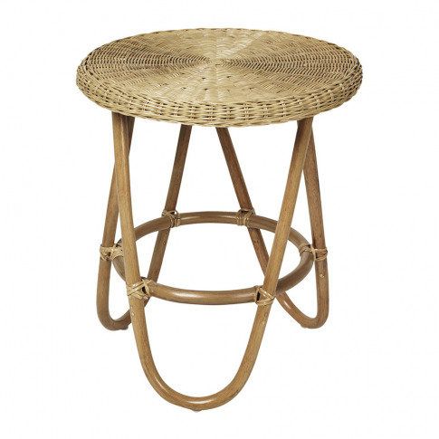 Broste Copenhagen - Frida Rattan Side Table