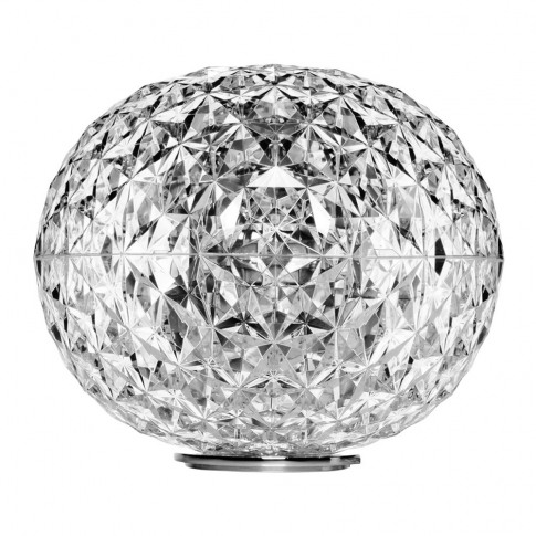 Kartell - Planet Low Table Lamp - Crystal