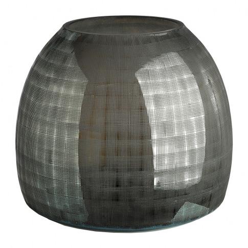 Pols Potten - Checkered Grey Vase
