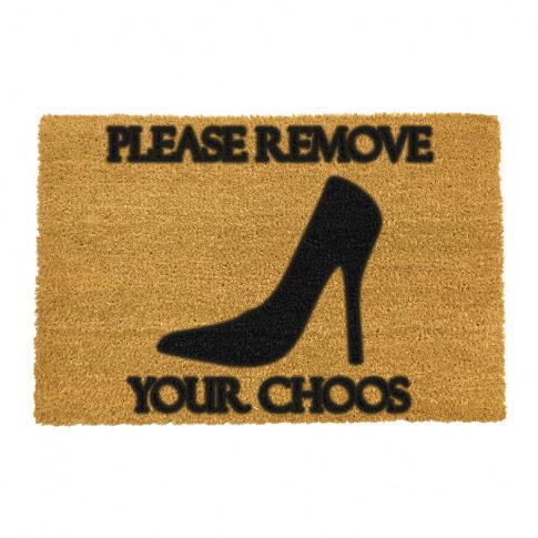 Artsy Doormats - Please Remove Your Choos Door Mat