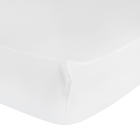 Yves Delorme - Triomphe Sateen Fitted Sheet - White ...