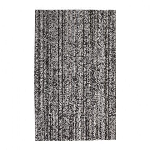 Chilewich - Skinny Stripe Shag Rug - Birch - 61x91cm