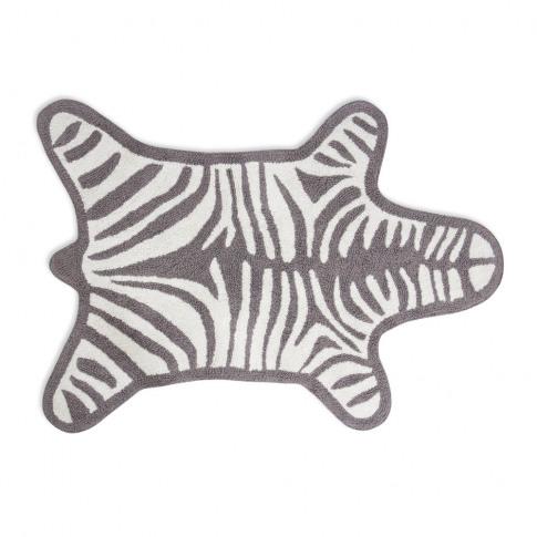 Jonathan Adler - Zebra Bath Mat - Grey