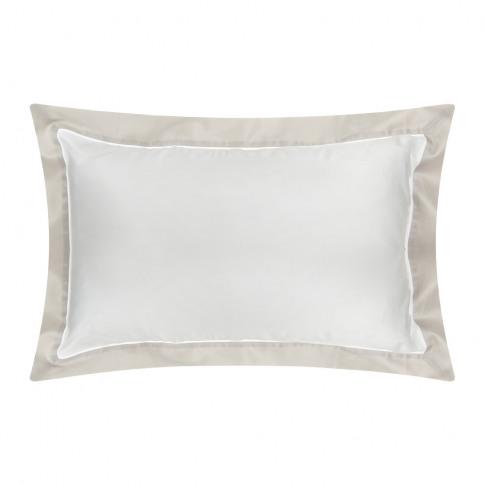 Ralph Lauren Home - Langdon Oxford Pillowcase - Silver - 50x75cm