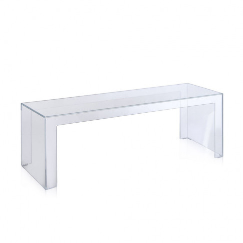 Kartell - Invisible Coffee Table - Crystal