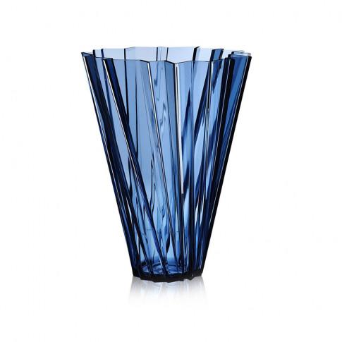 Kartell - Shanghai Vase - Blue