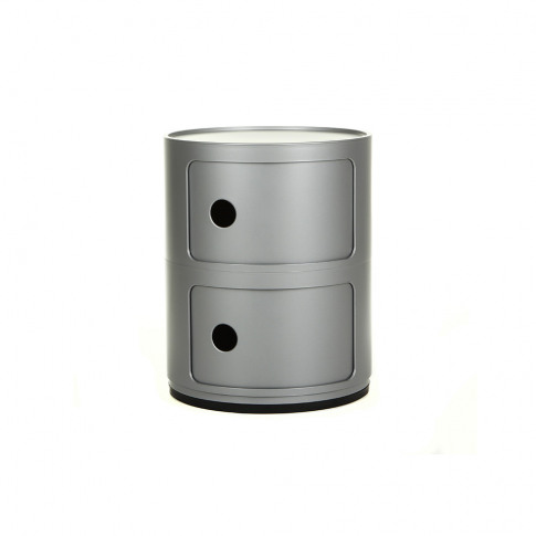 Kartell - Componibili Storage Unit - Silver - Small