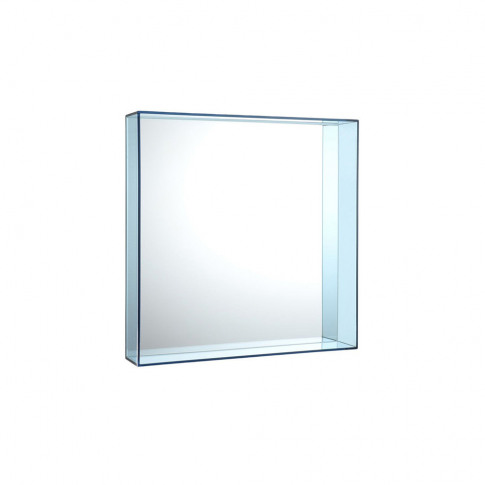 Kartell - Only Me Mirror - Pale Blue - 50x50cm