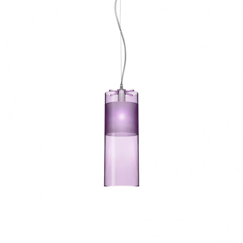 Kartell - Easy Ceiling Lamp - Purple