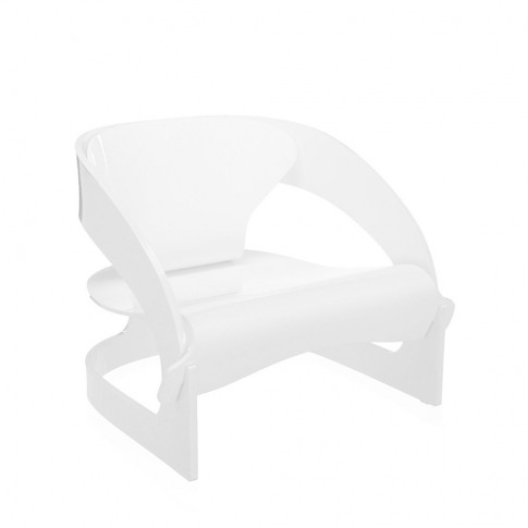 Kartell - Joe Colombo Armchair - White